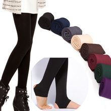 Ženy SILNÝ Warm Legging podšívkou z broušeného Stretch Fleece Kalhoty Trample Feet Legíny (Čína (pevninská část))