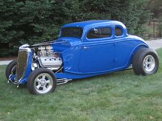 1934 Ford 5 Window ALL STEEL Coupe