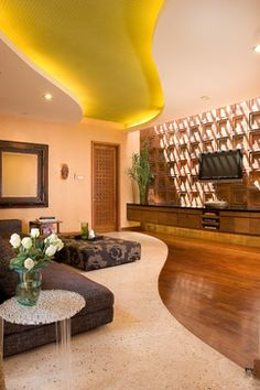 Living Room - eclectic - living room - other metro - Iwan Sastrawiguna Interior Design ottoman