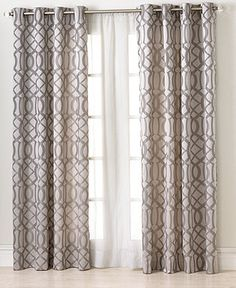 """Elrene Window Treatments, Latique 52"""" x 95"""" Panel - Extra-Long Curtains - for the home - Macy's"""