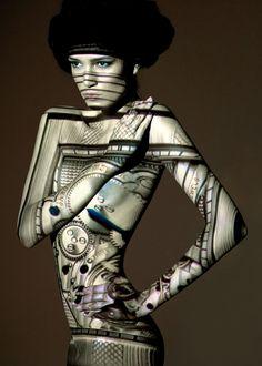 Larissa Goldner by John Wright .. www.fashion.net