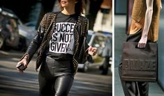 With Spring Fashion, It's All About Wearing Your Slogan on Your Sleeve - NYTimes.com