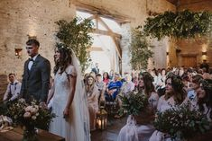 Greenery Wedding at Cripps Barn in the Cotswolds with Halfpenny London Wedding Dress and ASOS Bridesmaids Dresses, shot by Sara Lincoln Photography London Bride, London Wedding, Asos Bridesmaid Dress, Flowers In Hair, Wild Flowers, Newlyweds, Beautiful Bride, Getting Married, Wedding Inspiration