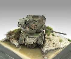 """Field training exercise"" Leopard 1A5 (1:72)   Pawel Panzerflix"