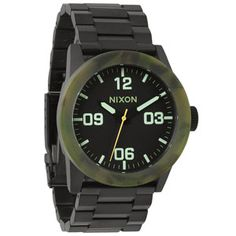 NIXON Karmaflage Collection The Private SS Watch #watch #karma #camo