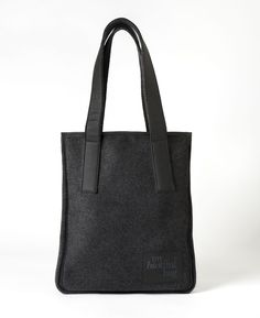 SAC TOTE LAINE NOIR / Nomade Collection / MY BIOTIFUL BAG