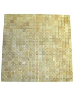 5/8x5/8 Honey Onyx Square Pattern Tumbled Finish Mosaic Tile #Honey_Onyx #Mosaic_tile #Square_Pattern