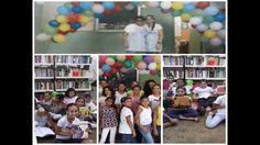 Sala de Leitura - Diretoria de Ensino de Lins - Município de Guaiçara - Escola Antônio Francisco dos Santos Júnior.