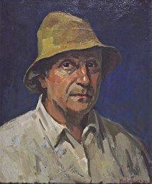 Zelfportret Henk van Leeuwen 1890-1972