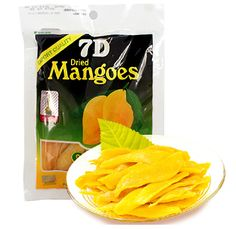 Free shipping, Philippine 7d dried mango slices 500g (100g*5 ), dried fruit