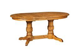 Preston Double Pedestal Table - Amish Direct Furniture