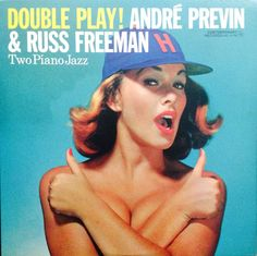 ANDRE PREVIN & RUSS FREEMAN / DOUBLE PLAY ! (LP)