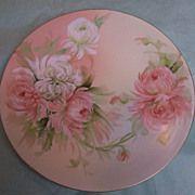 Hand Painted and Signed Plate by American Amateur Limoges Artist Ester Buckingham Horlbeck ...  Limoges Fine Art~ Porcelain