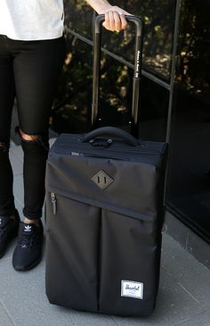 Herschel - Campaign Luggage - Black from Peppermayo.com