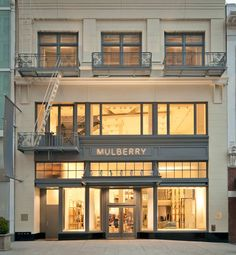 Mulberry San Francisco / storefront concepting