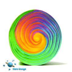 Rainbow swirl cane | by Marcia - Mars design