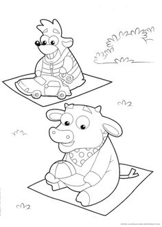 Free Printable Dora Christmas Coloring Pages Picture 21