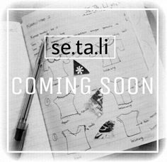 Sewing design for se.ta.li second collections.