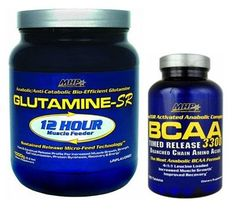 MHP Glutamine1000gr + BCAA 120 tablet