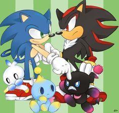 Sonic and Shadow Coloring by Nicky-306 on DeviantArt