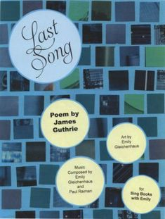 Last Song, a Singable Picture Book Content Words, Music Lyrics, Poems, Singing, Children, Illustration, Lyrics, Young Children, Song Lyrics