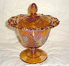 Indiana carnival candy dish