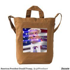 American President Donald Trump BAGGU Duck Bag