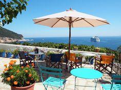 Guide to Skopelos Greece Skopelos Greece, Greece Honeymoon, World Of Wanderlust, Greece Travel, Greece Trip, Hits Movie, To Go, Europe, Patio