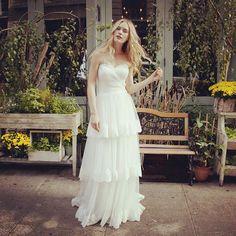 City girl meets #bohobride #lillianwest #springtwentysixteen