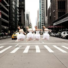 Incredible Photos of Ballet Dancers in City Streets