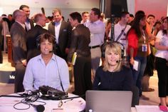 Eric Stromer and Cindy Dole at the Kitchen and Bath Industry Show (KBIS)