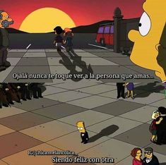 Sad Love Quotes, Words Quotes, Simpsons Frases, Bart Simpson, Starco Comic, I Am Blue, Sad Life, Im Sad, Cartoon Pics