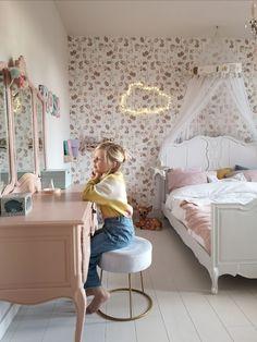 Girls Bedroom, Bedroom Decor, Happy New Home, Kids Bedroom Designs, Little Girl Rooms, New Room, Room Inspiration, Kids Room, Decoration