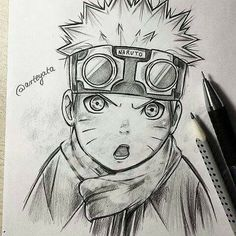 Little Naruto Uzumaki Drawing ♥♥♥ #cute #Impressive #Art #winter