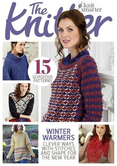 The Knitter Issue 80 2015 Red orchid shawl