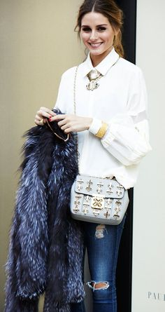Olivia Palermo // love this look!