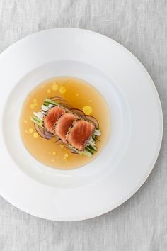 Try our delicious Tataki salmon with sesame crust and ginger glaze recipe prepared with Huon Aquaculture products.