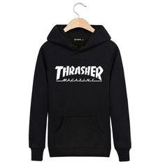 Uwback New Brand Trasher Hoodie Men Sweatshirt Mens Thrasher Hip Hop Hoodies Trasher Felpe Sudaderas Hombre hoodies CAA125