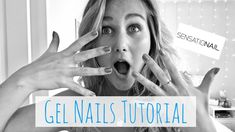 How to do Gel Nails | Sensationail Tutorial for Beginners - YouTube