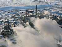 *Ecojustice is calling for a formal investigation into water pollution from oilsands development. Photo: Pembina Institute.