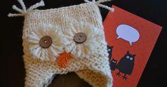 In meinem Freundeskreis ist noch ein kleines Mädchen geboren, als Willkommensgeschenk soll sie eine Eulenmütze für den Winter bekommen. (...