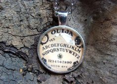 Ouija Board Pendant by KazanCauldron on Etsy