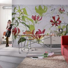 Komar Gloriosa Wall Mural - Beyond the Rack