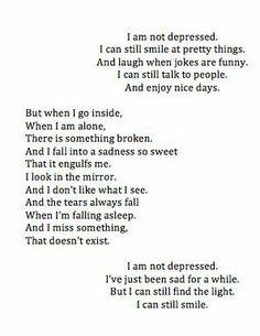 I can still smile.....