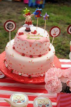 My little girl's Olivia bday cake