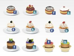 2 35 Cool and Stylish Social Media Icon Sets