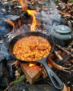 Good morning...#camping #campfire #wild…