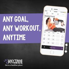 Anytime Workouts - the free app when you join Anytime Fitness Hounslow. Sports Training, Weight Training, Weight Loss Motivation, Fitness Motivation, Fitness App, Anytime Fitness Gym, Weekend Workout, Best Gym, Greater London