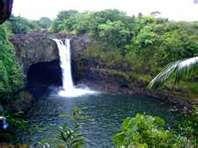 Rainbow falls: hilo hawaii