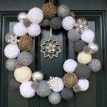Por unas navidades D.I.Y.: 5 coronas para la puerta · DIY Christmas: 5 wreaths